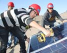 Solar lesson puts seniors on roof