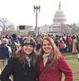Locals attend President Obama's inauguration