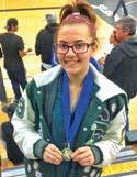 CV senior accomplishes her goal, advances to CIF Girls State Wrestling Invitational