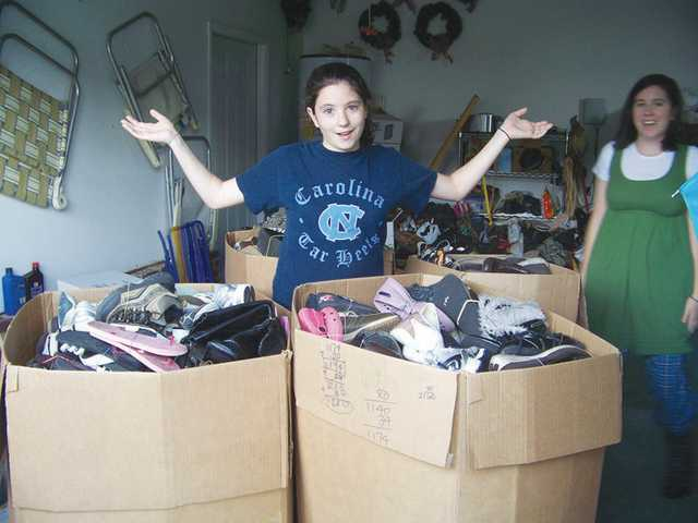 Lugoff teen collects shoes for those in need