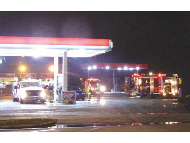 Fire destroys former Bethune bar, garage