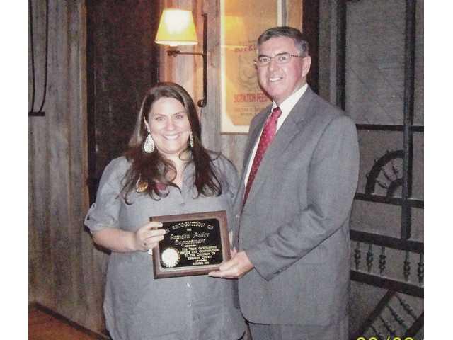 Camden Junior Welfare League gives community service award