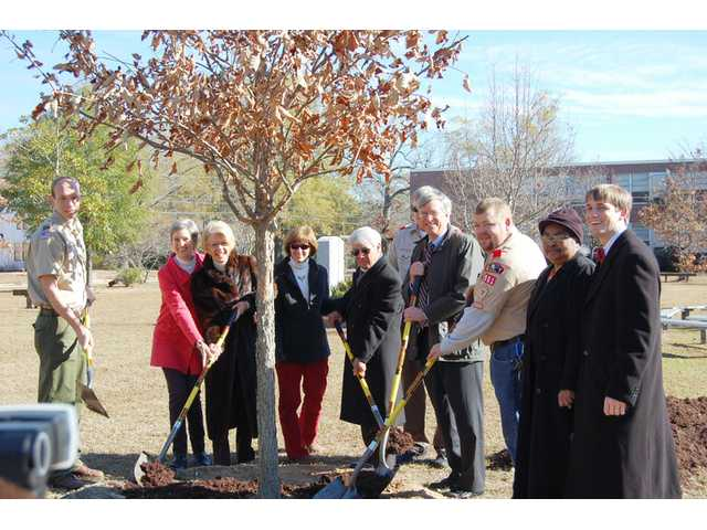 Arbor Day in Camden honors Polk, Boy Scouts