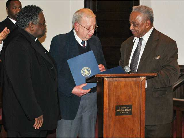 James, Anderson honored at MLK ceremony