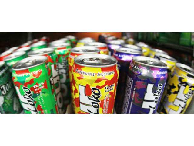 Push to ban alcoholic energy drinks started in Camden