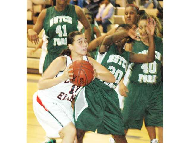 Lady Silver Foxes are too much for L-E to handle