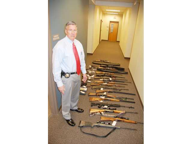 KCSO seizes weapons, more at S.C. DOC lieutenant's home