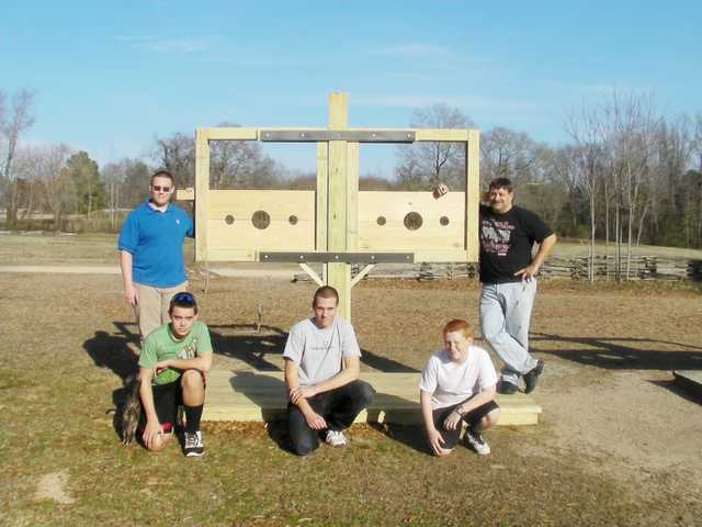 Eagle Scout finishes project for Historic Camden