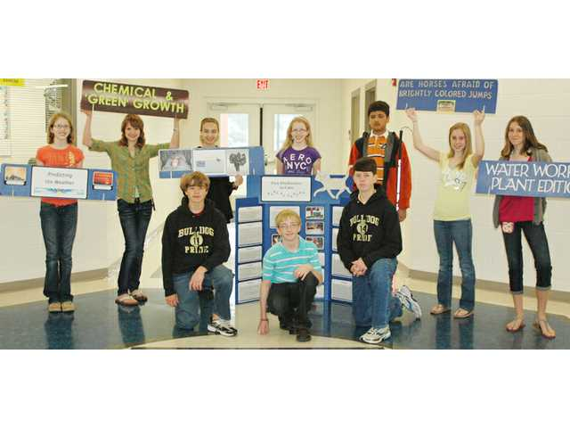 CMS wins 18 regional science fair awards