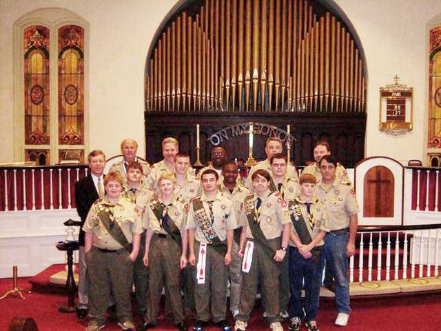 Hand earns Eagle Scout title with Troop 303