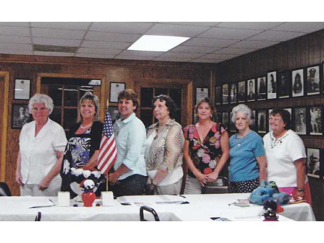 American Legion Auxiliary Post 17 installs new officers, helps provide scholarship money for student