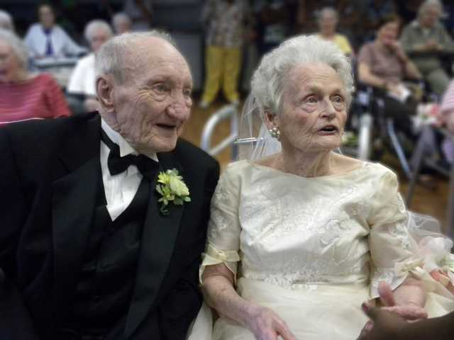 Mr. and Mrs. Meadows celebrate 67 years of marriage