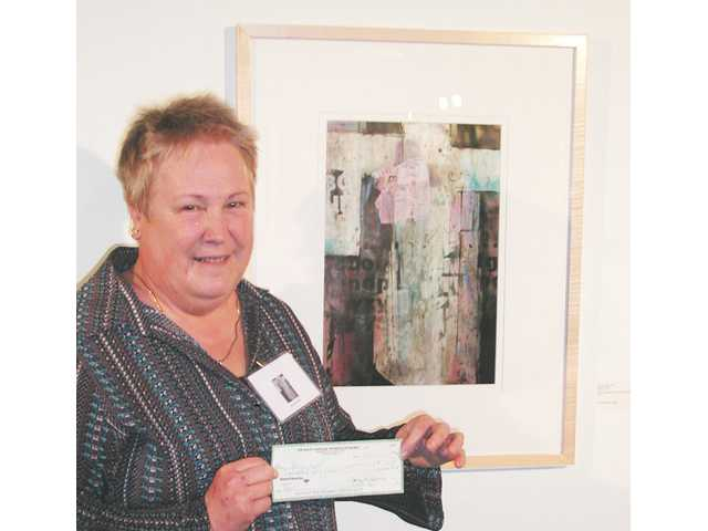 Local artist awarded