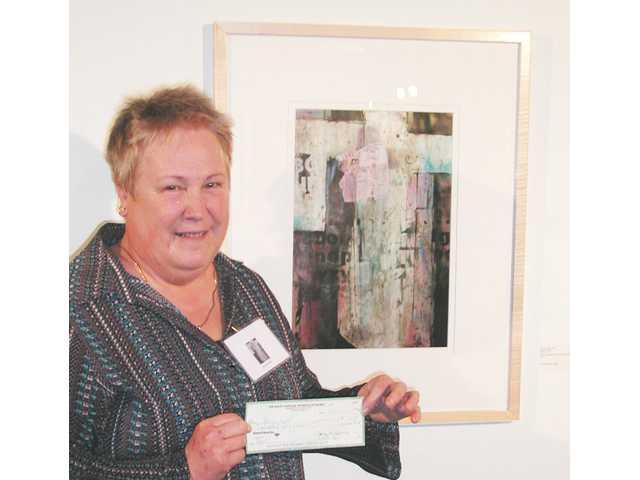 Local artist awarded