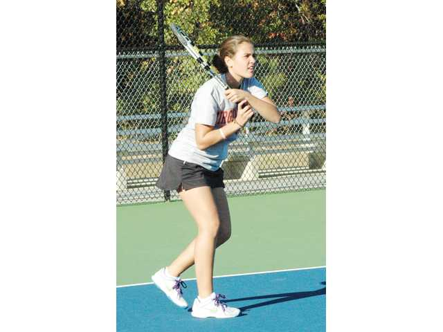 Tiller gains all-state tennis laurels