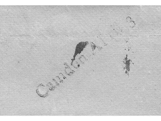 A 1799 Camden letter and postmark