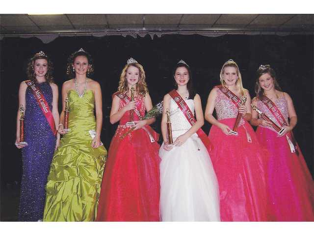 Crowning Little, Teen Miss Camden-Kershaw County