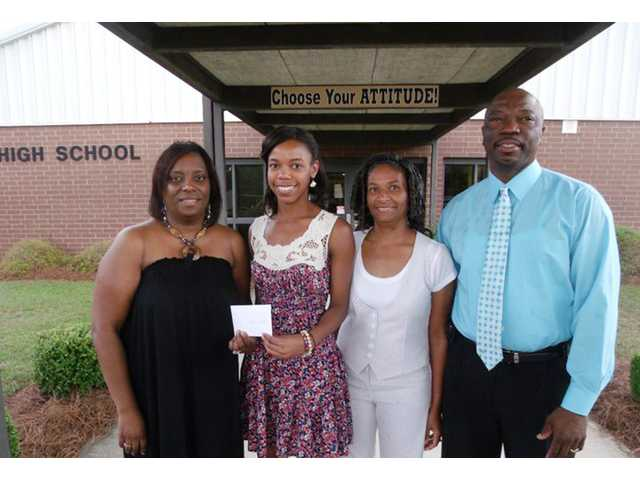 CHS grad awarded scholarship