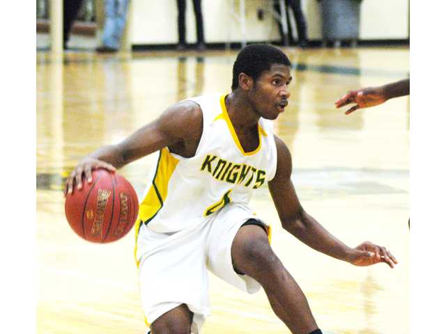 Knights open region play with 65-63 win over McBee