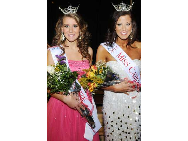 Miss Camden, Miss Camden Teen named during recent pageant