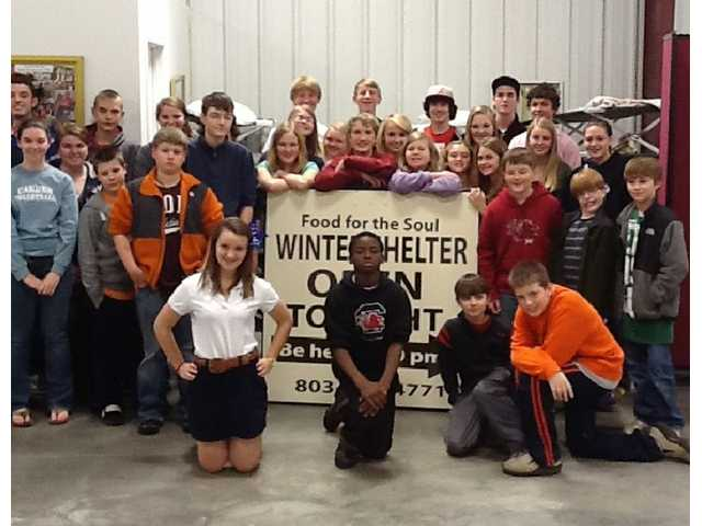 First Baptist Church student ministry gives back to Food for the Soul