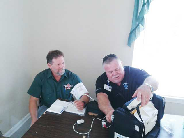 Camden Fire Department and EMS participate in local apartment health fair