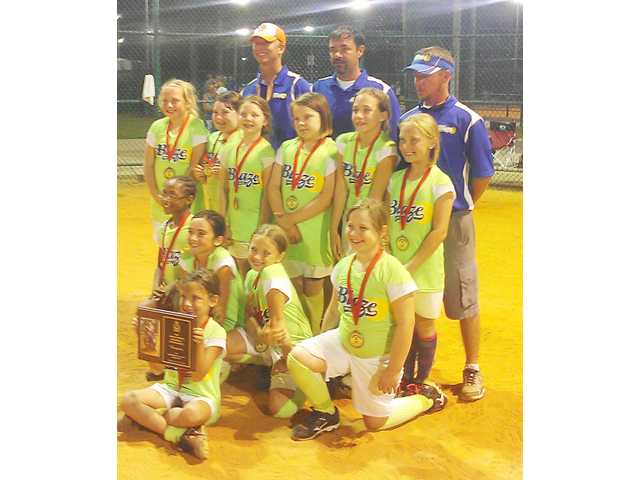 Blaze catches fire to win title