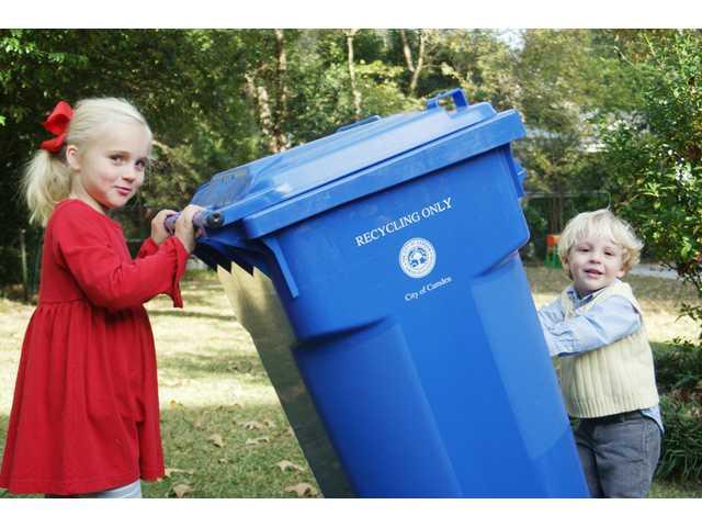 Camden's new recycling program rolls along