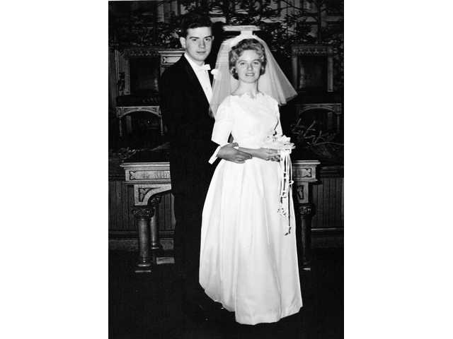 Mr. and Mrs. Joseph H. Parsons celebrate 50 years of marriage