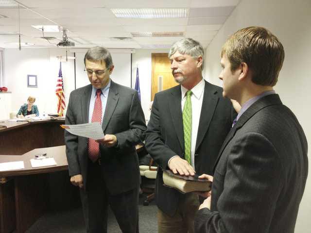 New school board members sworn in
