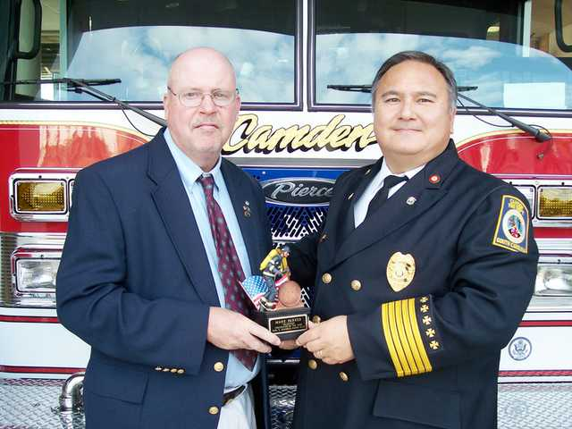 CFD honors professional, volunteer firefighters