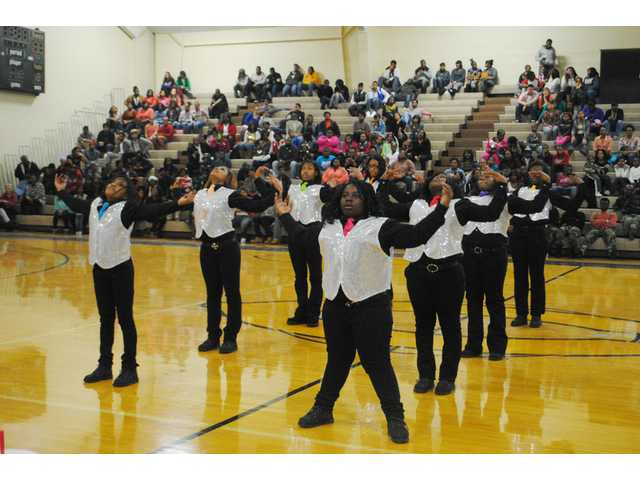 Lower Richland Diamond Dawgs take step show Mayor's Cup