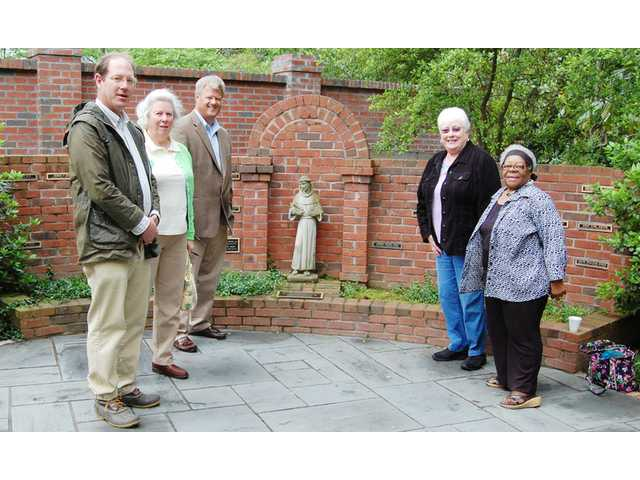 Grace Church's Memorial Garden receives Margot Rochester Landscape Award