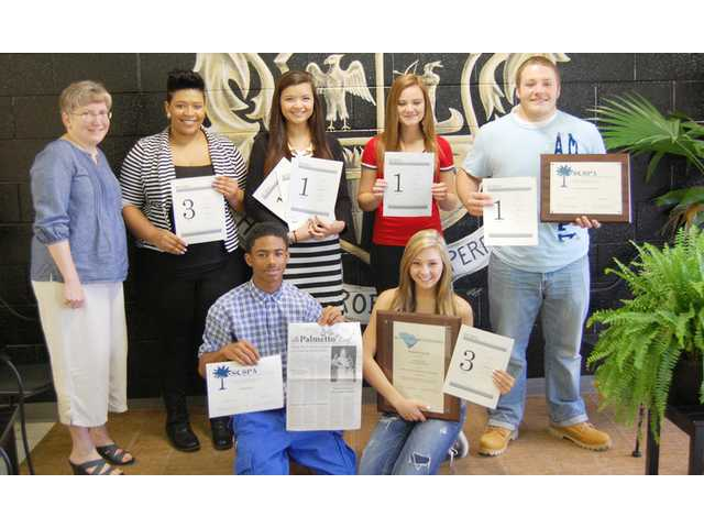 CHS newspaper wins first Palmetto Award in 14 years