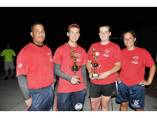 Lugoff Fire Explorer Team earns first place at state competition