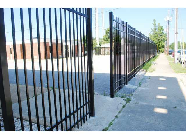 New fence part of courthouse security upgrades