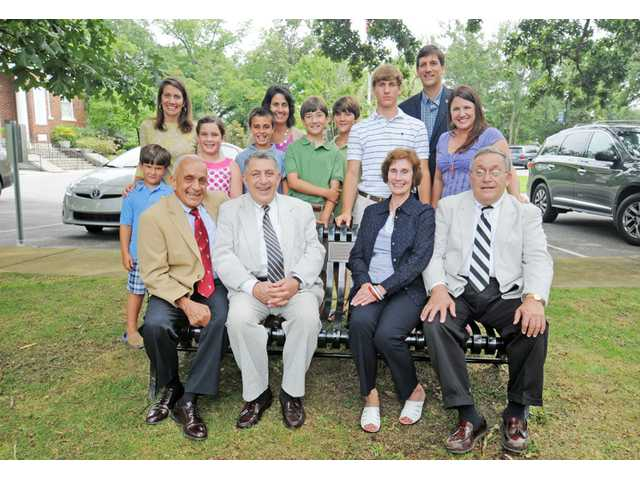 Camden's Leaders Legacy program kicks off with first set of benches