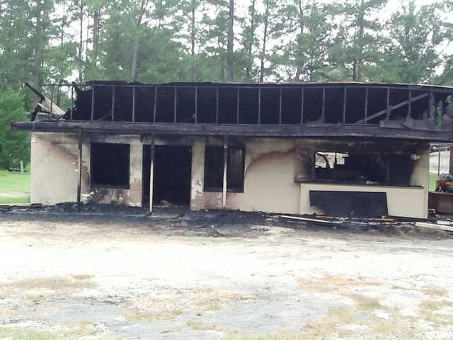 Porter Cross Road fire under investigation