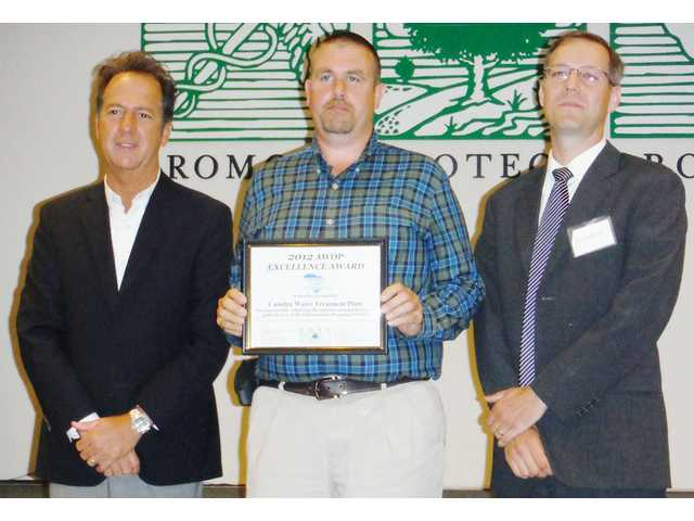 Camden water treatment plant receives award