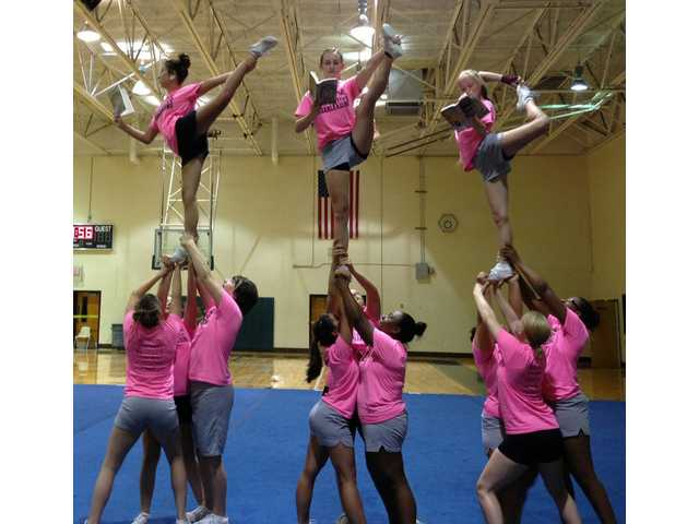 Famous author re-tweets NCHS cheerleaders' photo