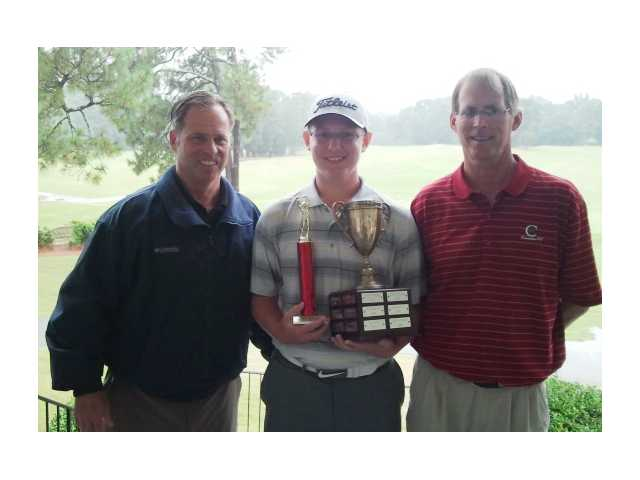 Gray plays his way to Kornegay Junior Championship at CCC