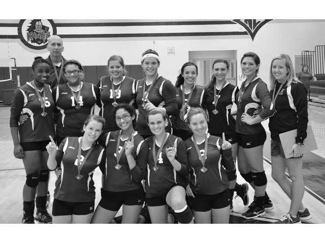 Winning own tournament getting to be a habit for Lady Knights