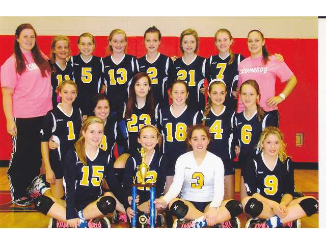 Lady Leopards 'dig' their new trophy
