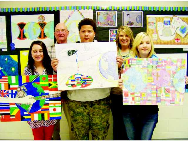 Bethune Lions Club 'Peace Poster' contest