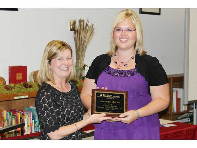 Harris named 2013-14 Reading Teacher of the Year