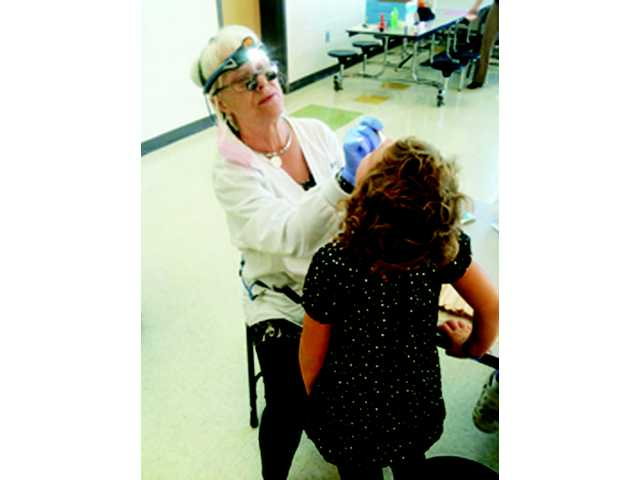 Jackson Elementary School dental screenings