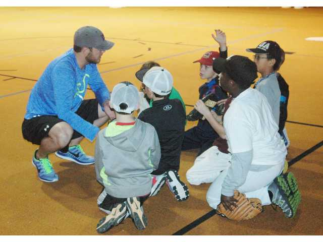 Hot stove league heats up at CHS baseball camp