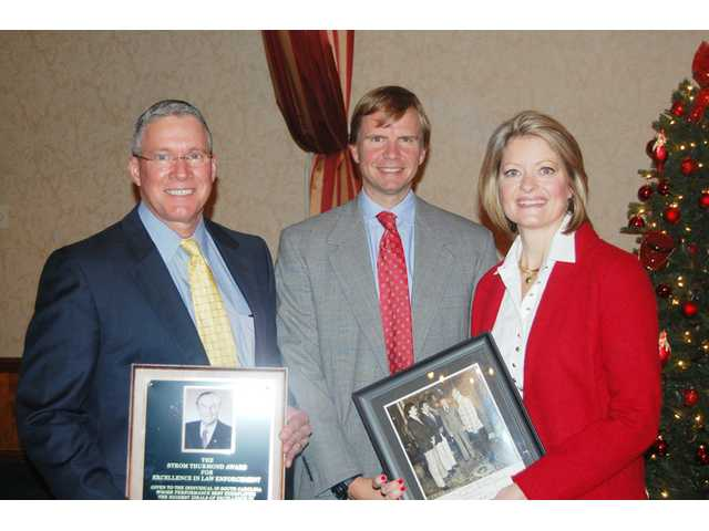 Matthews receives Thurmond excellence award