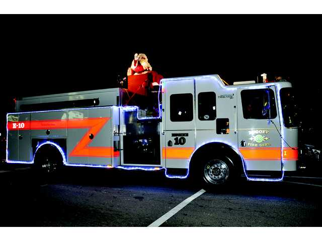 Lugoff Fire Department to escort Santa Claus through town