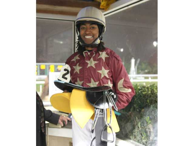 Former Kirkwood Stables rider Fry gets first win as a jockey